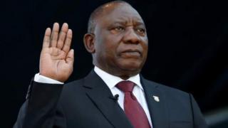 Perezida Cyril Ramaphosa yimitswe ku munsi wa gatandatu uheze