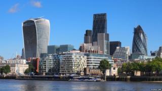 The Walkie Talkie from Tower Bridge, London