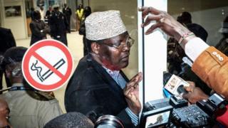 Miguna Miguna, umunyepolitike atavuga rumwe na leta ya Kenya