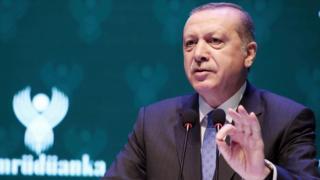 رجب طیب اردوغان در نشستی در روز جمعه در استانبول