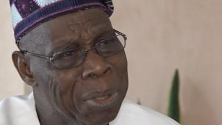 Tsohon shugaban Najeriya cif Olusegun Obasanjo ya yi zargin cewa Shugaba Buhari yana yaki da cin hanci ne kawai kan mutanen da ba sa goyon bayansa.