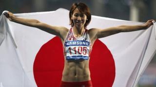Japanese sprinter Chisato Fukushima