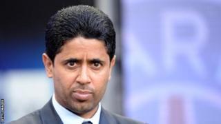 Nasser Al-Khelaifi oo ah ganacsade reer Qadar ah ayaa gudoomiye u ahaa kooxda PSG tan iyo sannadkii 2011kii