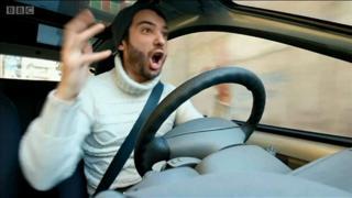 ผู้ชายขับรถ
