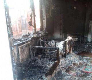 Damaged Bognor Regis home