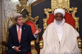 John Kerry na Sultan wa Sokoto