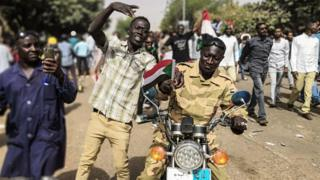 Demonstrations in Sudan