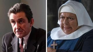 Good nature news Stephen McGann and Miriam Margolyes in Call the Midwife