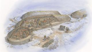 science Reconstruction of Lair homestead