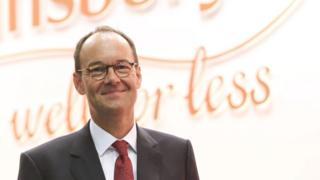 Mike Coupe, Sainsbury's chief executive