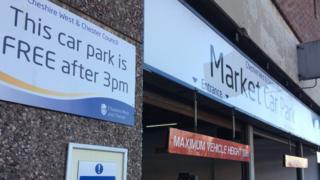 Chester car park