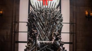 O Trono de Ferro de Game of Thrones