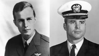 George HW Bush and John McCain