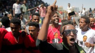 محتجون في إثيوبيا
