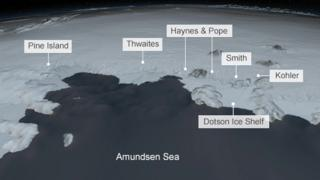 Graphic ice shelves