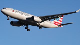 American Airlines Airbus A330-200 plane (file image)