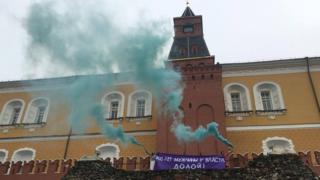 акция у Кремля