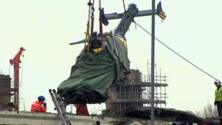 Helicopter removed from Clutha bar