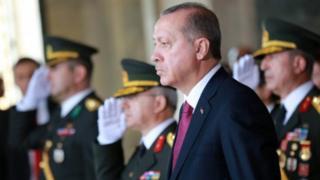 Madaxweynaha Turkiga Erdogan