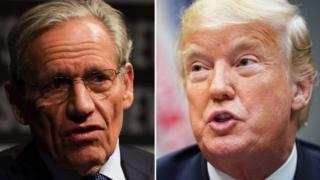Trump ya ce bayanan karya ne a littafin Woodward