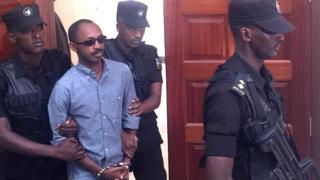 Major Callixte Nsabimana uzwi nka Sankara wari umuvugizi w'umutwe wa FLN