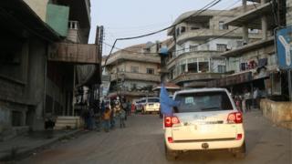 Un convoy de ayuda entra a Madaya