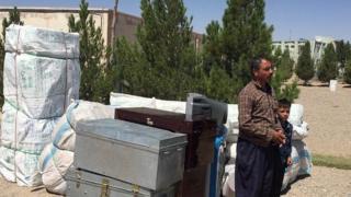 مهاجر افغان