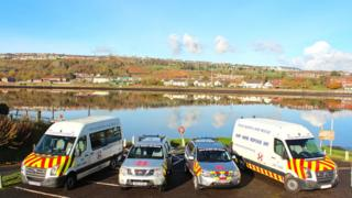 Foyle Search and Rescue shave been operating in Derry and Strabane since 1993