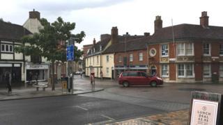 Old Cattle Market/Silent Street junction, Ipswich