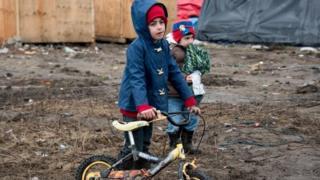 Child refugees