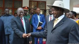 Magufuli na Museveni