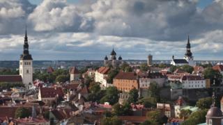 Estonian capital Tallinn