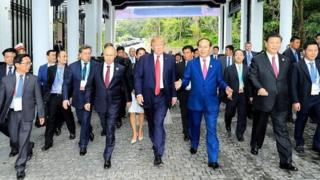 Mr Putin iyo mr Trump waxa ay markii ugu horeysay ku kulmeen dalka Jarmalka