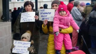 Protest at Volokolamsk hospital, 21 Mar 18