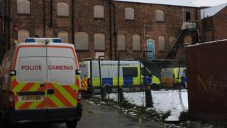 Cannabis raid in Derby