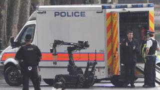 Robot de la policía