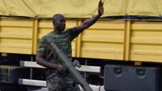 Wanajeshi waliogoma waliteka mji wa Bouaké ambao ni pili kwa ukubwa nchini humo