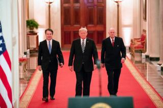 Brett Kavanaugh, Donald Trump and Charles Kennedy