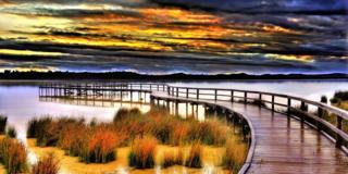 Peel-Yalgorup wetlands system in Western Australia