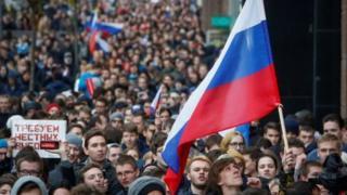 اعتراضات در مسکو