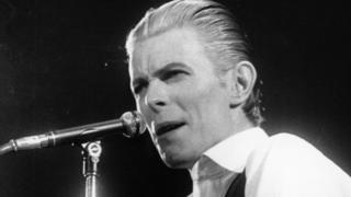 David Bowie in 1976