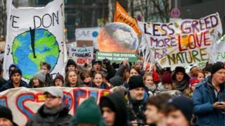 iklim değişikliğine karşı yürüyüş