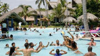 A hotel in the Dominican Republic