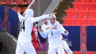 تیم فوتسال زنان ایران در سال ۲۰۱۵ قهرمان آسیا شده بود