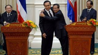 Hun Sen và Prayuth