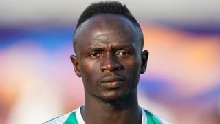 Sadio Mané, l'une des stars de l'équipe du Sénégal.