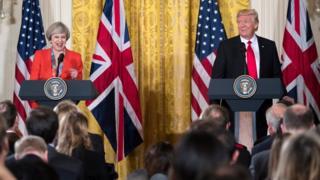 İki liderin ortak basın toplantısı