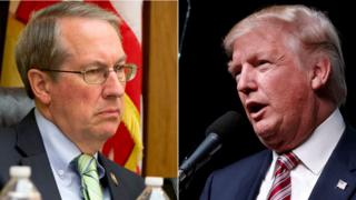 Bob Goodlatte and Donald Trump