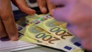 New 200 euro banknote (generic image)