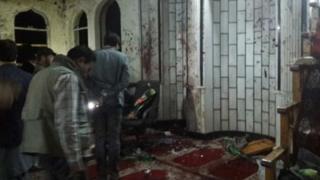 Kabil'de saldırıya uğrayan cami